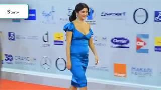 على طريقة رانيا يوسف غادة عادل تظهر بفستان عارى فى مهرجان الجونة