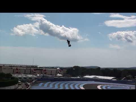Franky Zapata : l'homme volant va survoler les pistes de F1 du Grand Prix de Belgique - - France 3 Hauts-de-France