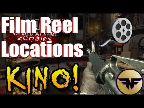 Zombies Chronicles: Kino Der Toten Film Reel Locations