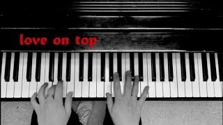 BEYONCÈ - Love on Top (piano cover) by Jack Armbrust