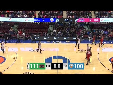 Damyean Dotson (23 points) Highlights vs. Maine Red Claws