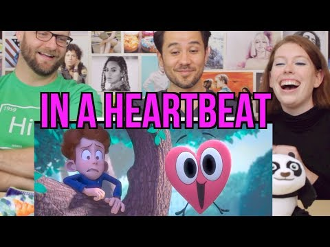 IN A HEARTBEAT - Animated Short - REACTION!!