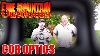 CQB optics quick POV comparison.  Aimpoint vs EOTech vs Acog vs Strikefire vs Counterstrike vs BSA