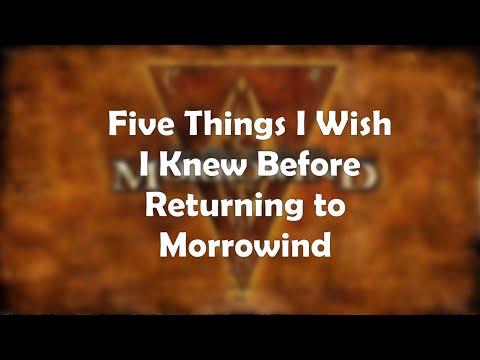 5 Things I Wish I Knew Before Returning to Morrowind |