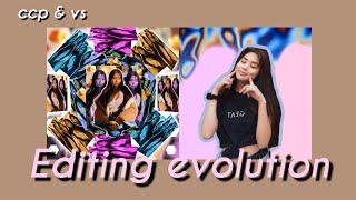 My editing evolution || cute cut pro & videostar 💜