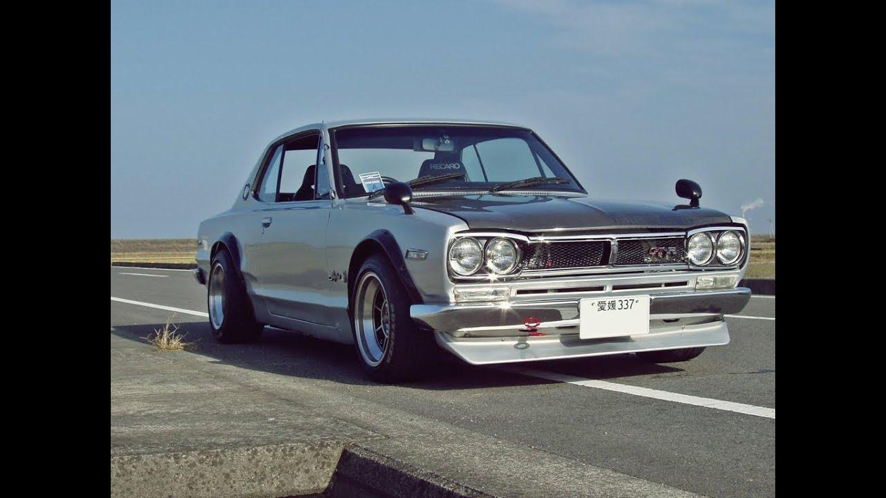 Nissan skyline 1970 drift youtube vanachro Choice Image