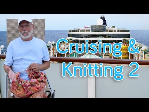 Cruising & Knitting 2: Sneak Preview Cruise Shawl