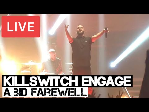 Killswitch Engage - A Bid Farewell Live in [HD] @ 02 Brixton Academy, London England 2014