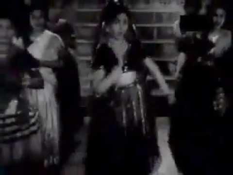 """Tik Tik Bole Mere Dil Ki Ghadi """"magroor"""" (1950) Shamshad Begum"""