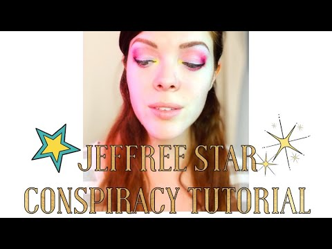 Shane X Jeffree Star Conspiracy Palette Swatch and Tutorial! thumbnail