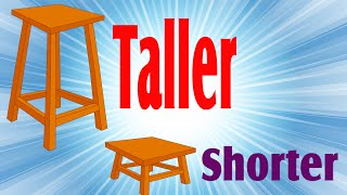 Taller & Shorter | Comparison for Kids | Part 3 | Periwinkle