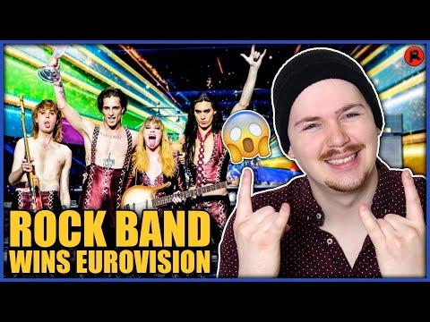 American Reacts to EUROVISION 2021 WINNERS! (Måneskin)