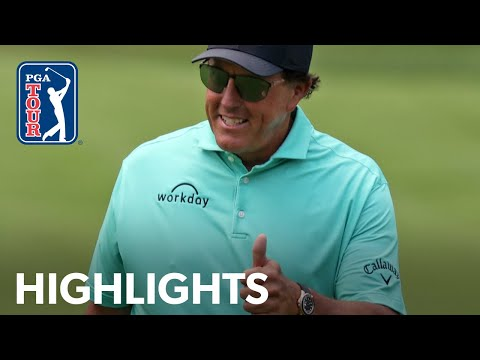 Phil Mickelson shoots 3-under 69 | Round 1 | Rocket Mortgage | 2021