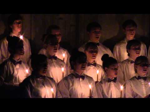 """Sacred Heart Concert Choir performs """"One Candle"""""""