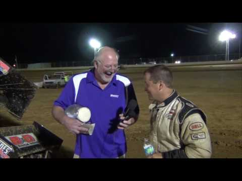 Trail-Way Speedway 358 Sprint Car Victory Lane 09-02-16