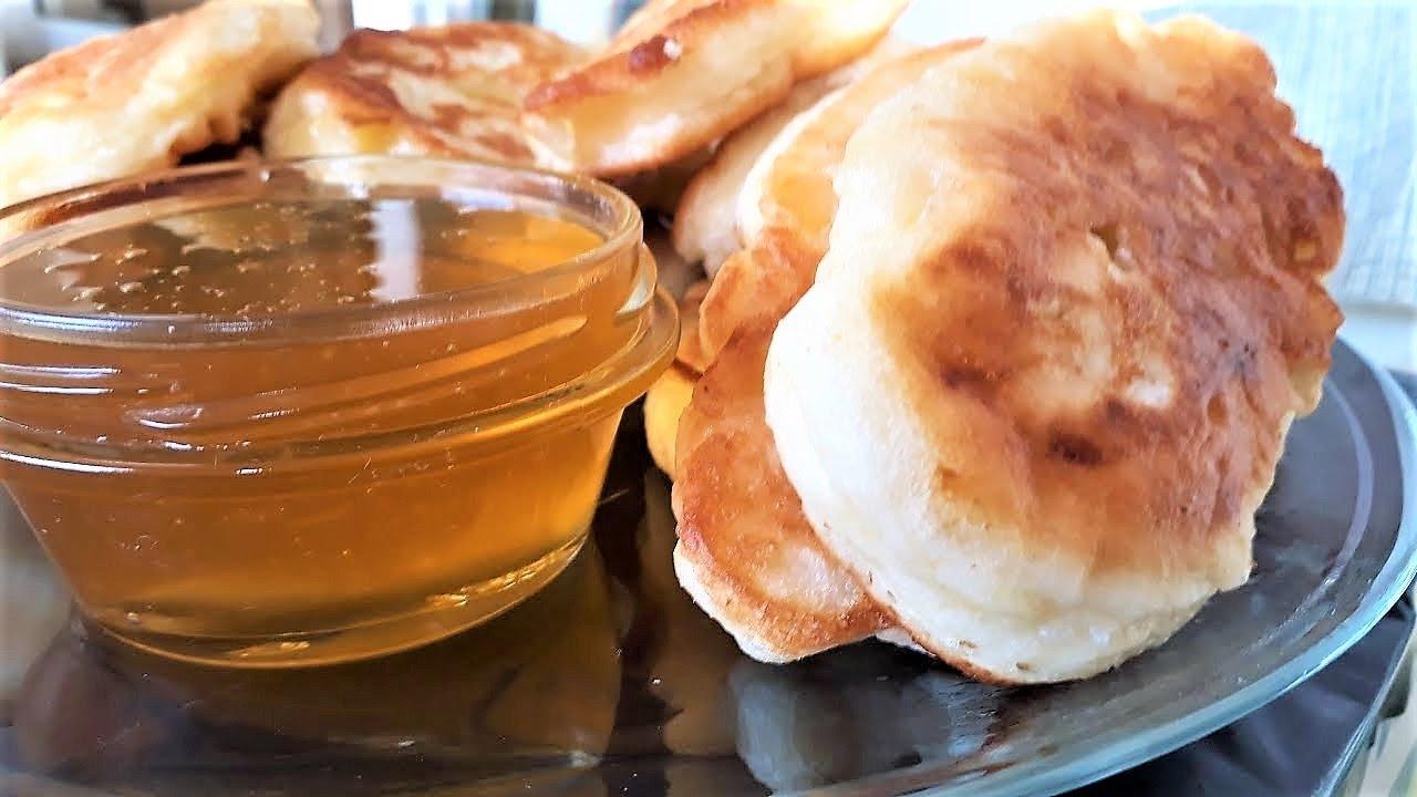 Кулинария с Лизой - Оладушки с Яблоками | кулинарный рецепт анастасии скрипкиной