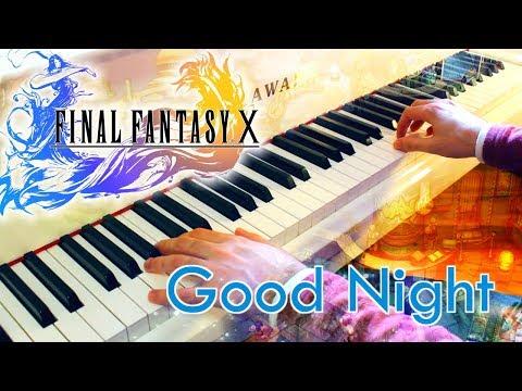 🎵 Good Night (Final Fantasy X) ~ Piano cover w/ Sheet music! [SPIRA album]