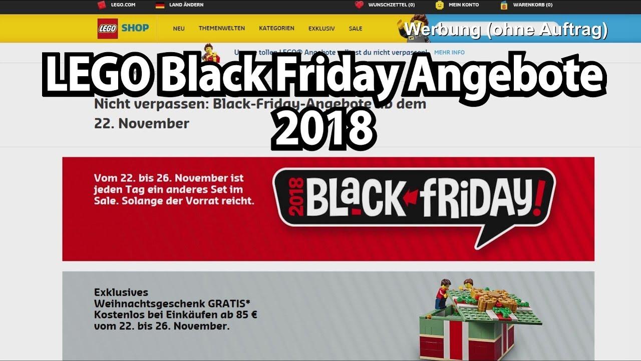 LEGO Black Friday Angebot 2018: Was lohnt sich? - YouTube
