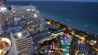 Fontainebleau Hotel Miami Beach  Review and Tour
