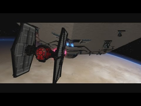 LEGO Star Wars: The Force Awakens - Special Forces Tie Fighter Gameplay [1080p 60FPS HD]
