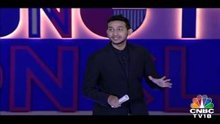 OYO Founder Ritesh Agarwal Tells His Story at Young Turks Conclave 2018