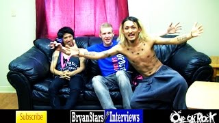 Checkout my backstage interview with ONE OK ROCK members Taka (Mori...