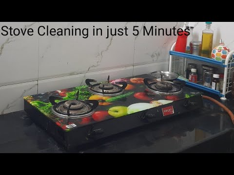 Kitchen Stove Cleaning In Just 5 Minutes Riya Samayal Tamil Tamilnadu