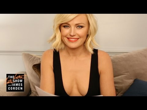 Malin Akerman Translates Reggie's Questions Into Swedish
