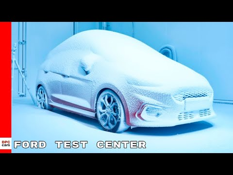 Ford Extreme Weather Environmental Test Center