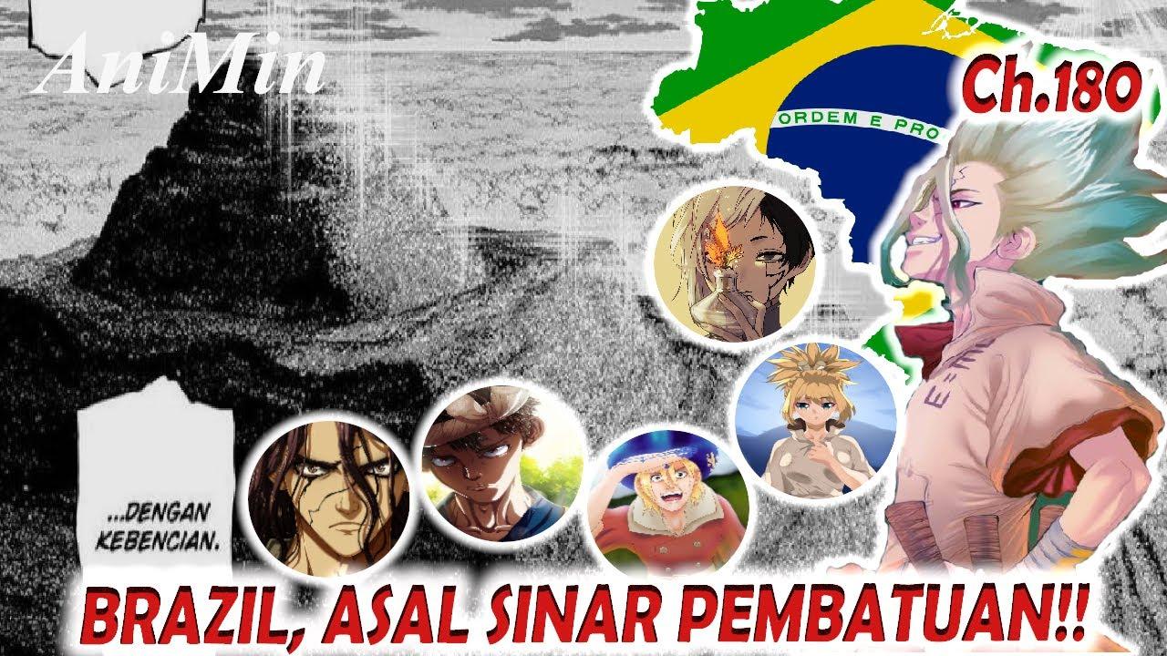 Senku Menemukan Segunung Medusa Di Brazil | Dr. Stone Chapter 180