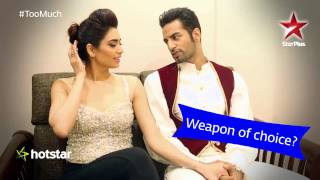 Nach Baliye 7: Karishma - Upen tell us how they feel being in love!