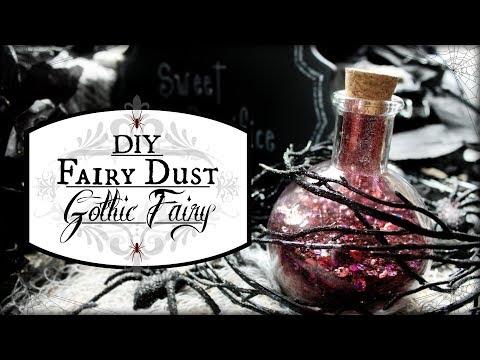 How to Make Fairy Dust DIY Fairydust Potion ♥ Pixie Dust ♥ Halloween Glitter Blood Tutorial