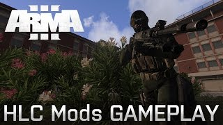 ARMA 3 HLC Mods - BOT戦 市街地編 feat.Losty