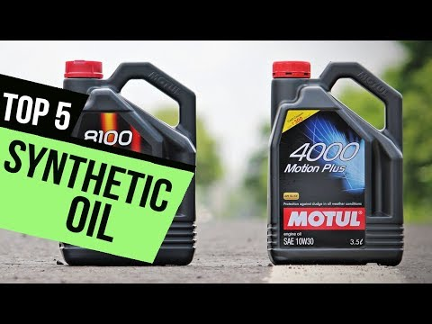 TOP 5: Best Synthetic Oils 2017-18