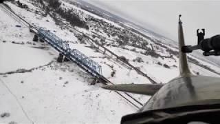 "The ""Pilot"" movie shooting - IL-2 flight - rear view"