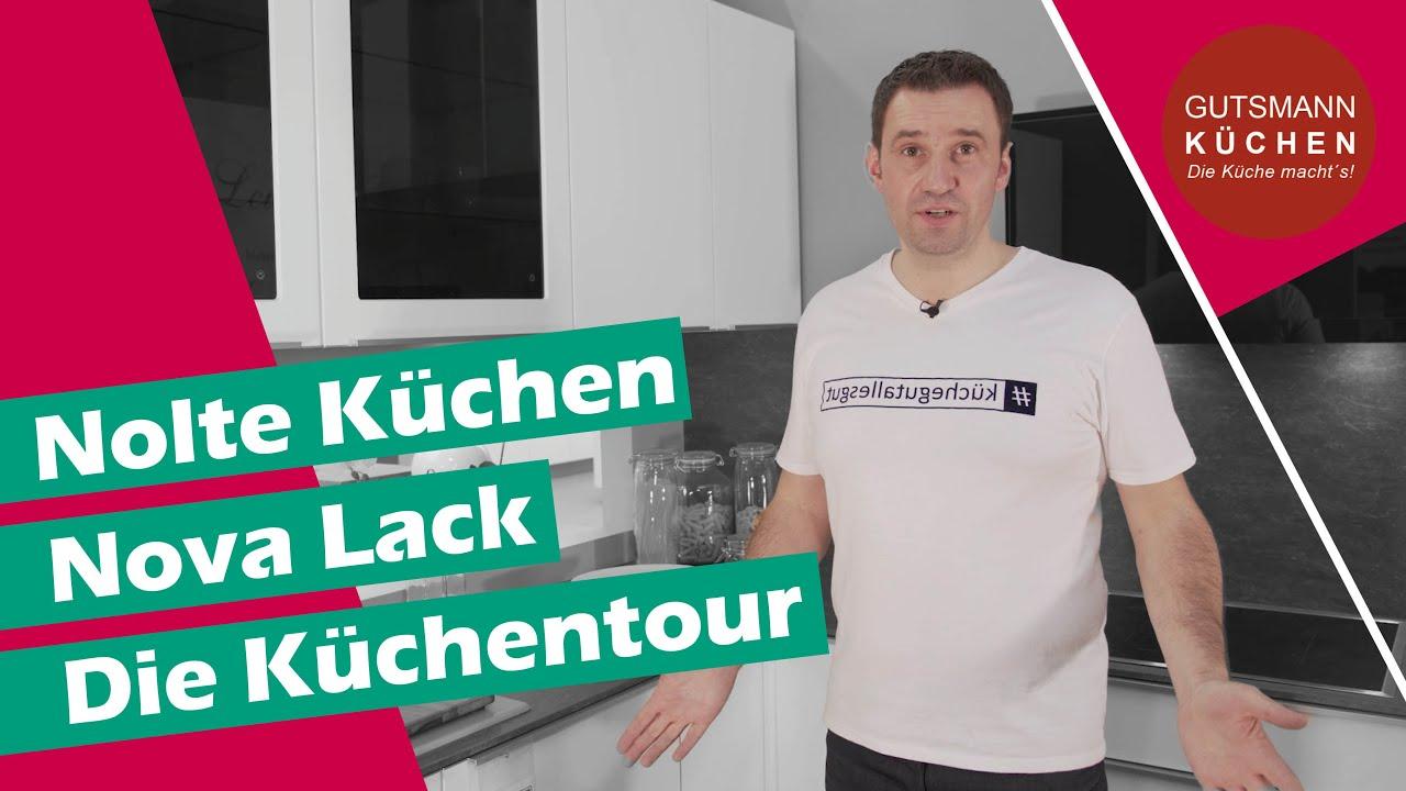 Kuchen Ideen Prasentiert In Unserer Kuche Nova Lack Von Nolte Kuchen Youtube