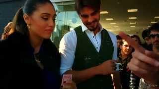 CECILIA RODRIGUEZ E FRANCESCO MONTE incontrano MAGICBOY!!!!!!