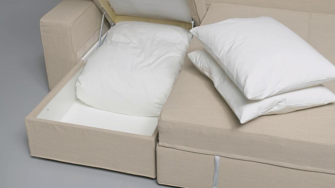 Ikea Vilasund Anleitung Vom Ecksofa Zum Bett Youtube