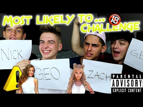 MOST LIKELY TO GET BACK WITH THIER EX! W/ Zach Clayton Nick bean Edwin Burgos