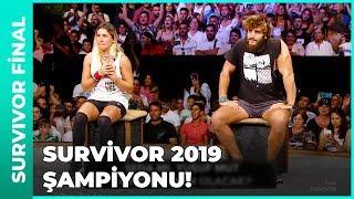 İşte Survivor 2019'un Şampiyonu!