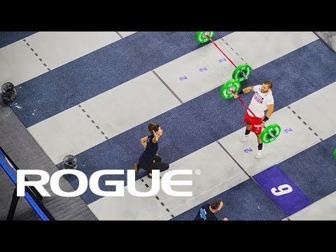 Fraser from Above – 2018 CrossFit Games / 8K