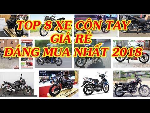 Xe Channel – Top 8 mẫu xe côn tay giá rẻ đáng mua nhất 2018