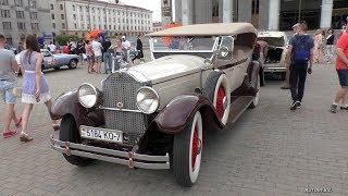 Ретро автомобили на Oldtimer rally (Минск, 08.06.2019)