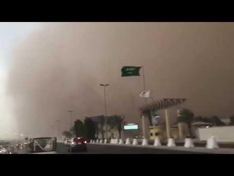 Sand storm in Jeddah (8/09/2015)
