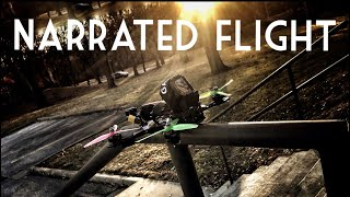 NARRATED FPV FLIGHT AT A NEW LOCATION! (WITH TIPS) 🔥🔥🔥| FPV FREESTYLE