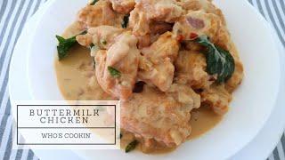 Buttermilk Chicken Recipe / Resepi Ayam Buttermilk Ingredients For chicken fry 250g boneless chicken pieces 1 egg Salt as needed 3 tbsp all purpose flour 1 ...