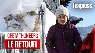 Greta Thunberg : son discours percutant à Davos