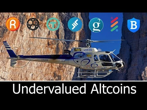 Top Undervalued Altcoins To Watch in 2018
