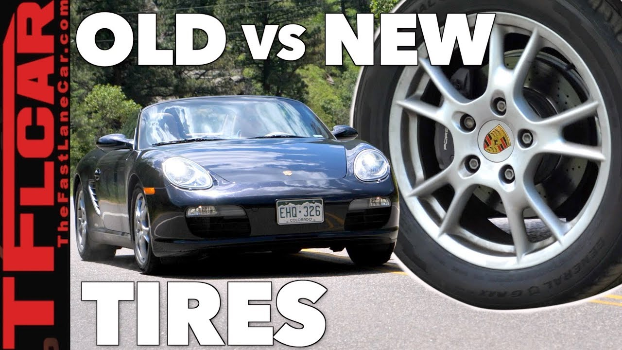 old vs new how much faster is a porsche boxster with new tires sponsored by general tire. Black Bedroom Furniture Sets. Home Design Ideas