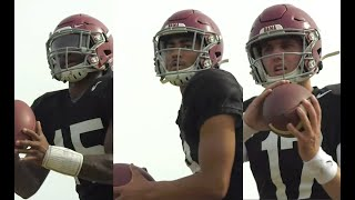 Watch Bryce Young, Paul Tyson, And Jalen Milroe During Alabama Football Practice | SEC News